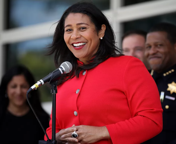 London Breed, the 45th mayor of the City and County of San Francisco