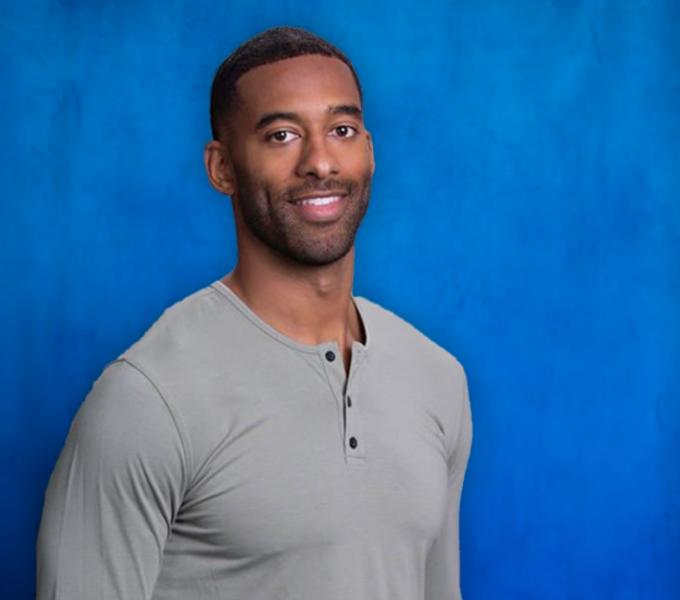 Matt James, the first black Bachelor lead for The Bachelor in season 25