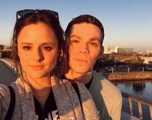 Larissa Dias and her boyfriend, Daniel Diemer