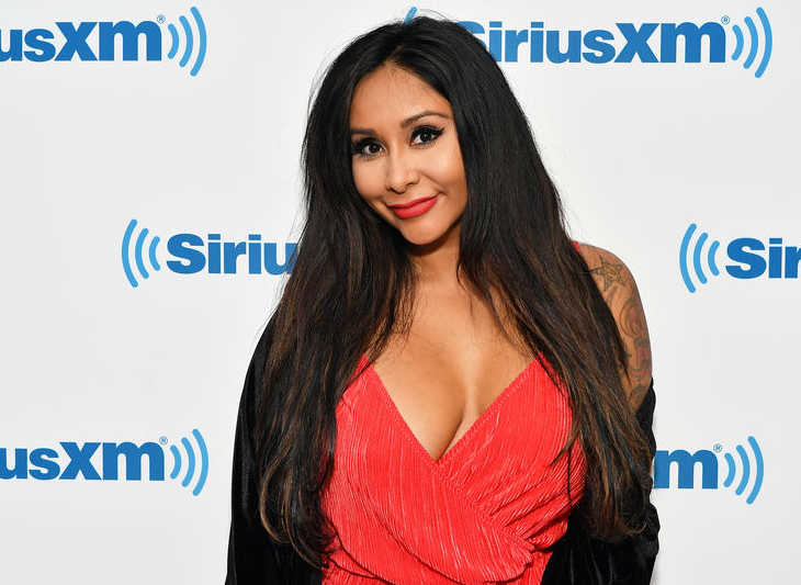 Snooki, a famous television personality