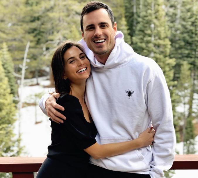 Ben Higgins and his girlfriend, Jessica Clarke
