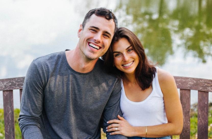 Jessica Clarke and her fiance, Ben Higgins