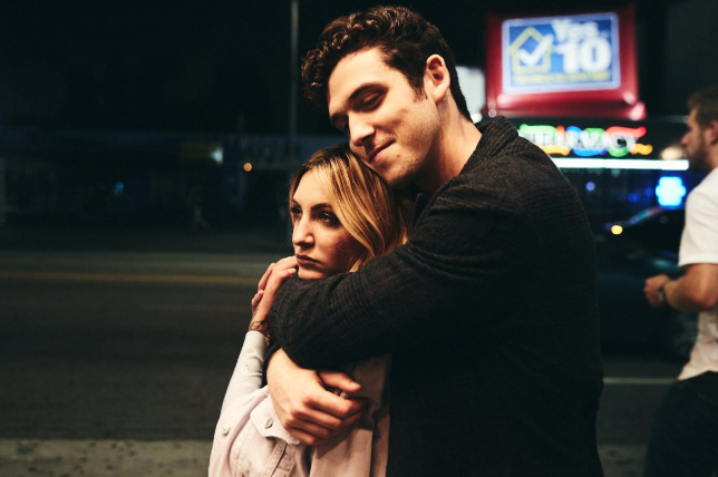 Lauv with his ex-girlfriend, Julia Michaels