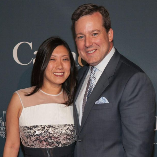 Ed Henry with his wife; Shirley Hung