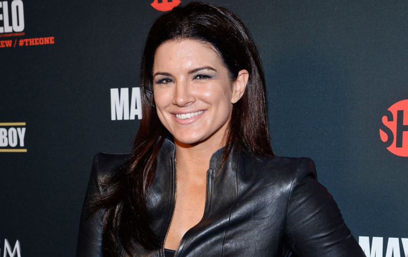 Gina Carano, a famous American actress, television personality, fitness model, and former mixed martial artist