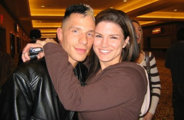 Gina Carano with her boyfriend, Kevin Ross