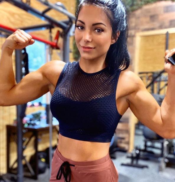 Athletic Bodybuilder, Noelle Best Body