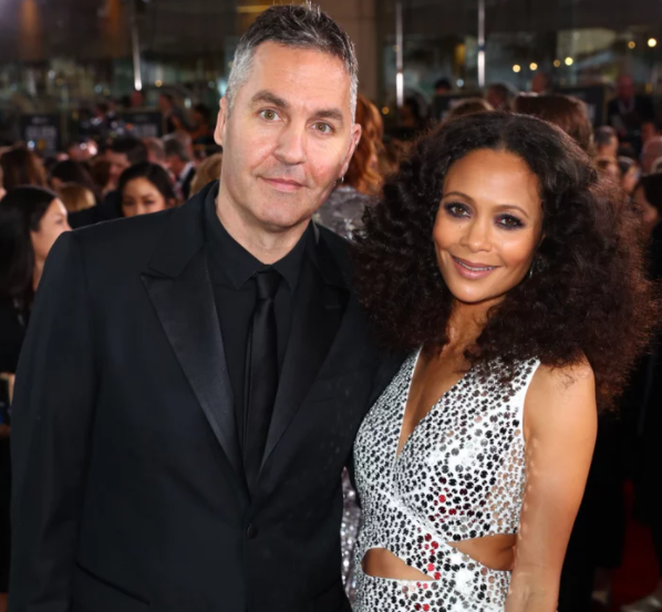 Thandie Newton and her husband, Ol Parker