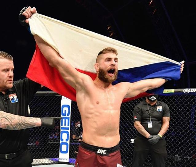 Jiri Prochazka, a famous MMA Fighter