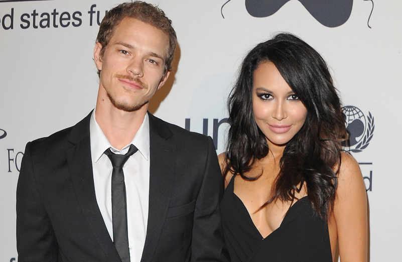 Ryan Dorsey with his late ex-spouse, Naya Rivera