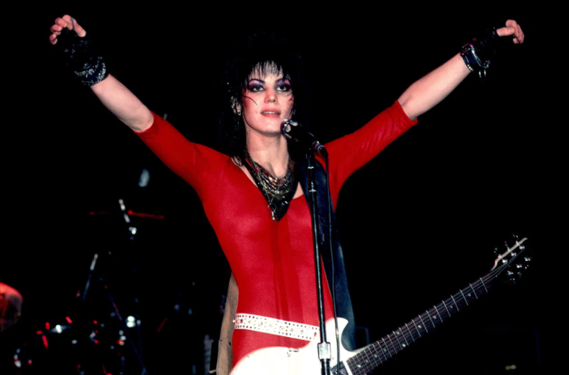 Joan Jett, a famous singer and songwriter