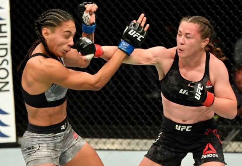 Molly MCCann lost against Talia Santos