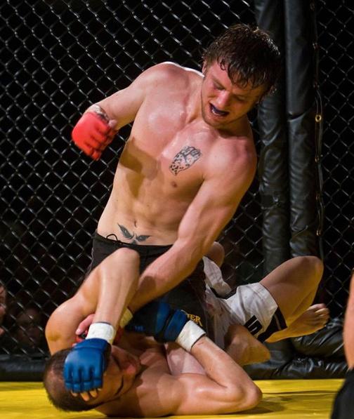 Tom Elliott, a professional MMA Fighter