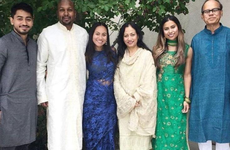 Fahim Saleh's Family