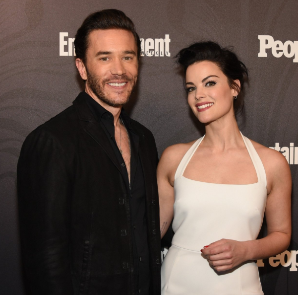 Jaimie Alexander with her boyfriend Tom Pelphrey