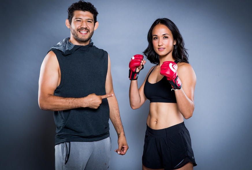 Gilbert Melendez and his wife, Keri Anne Taylor