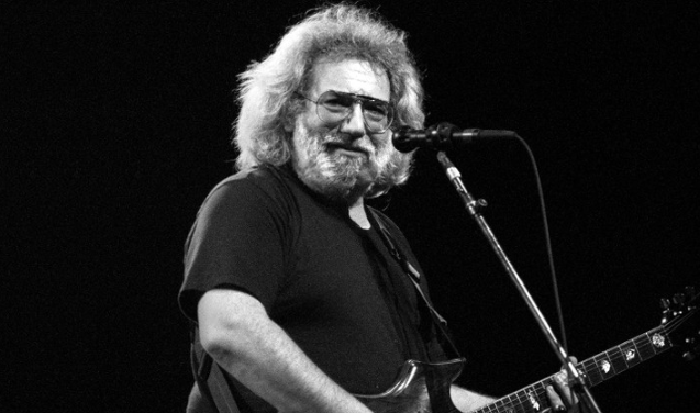Jerry Garcia, a famous singer and songwriter