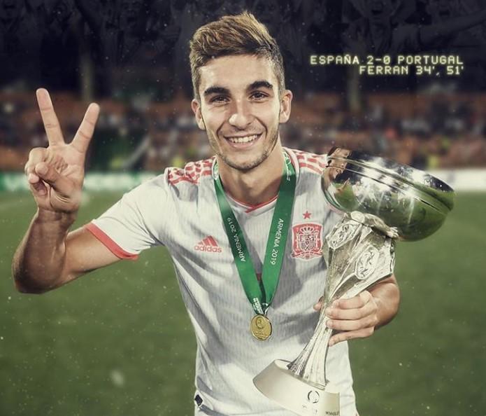 Ferran Torres Championships