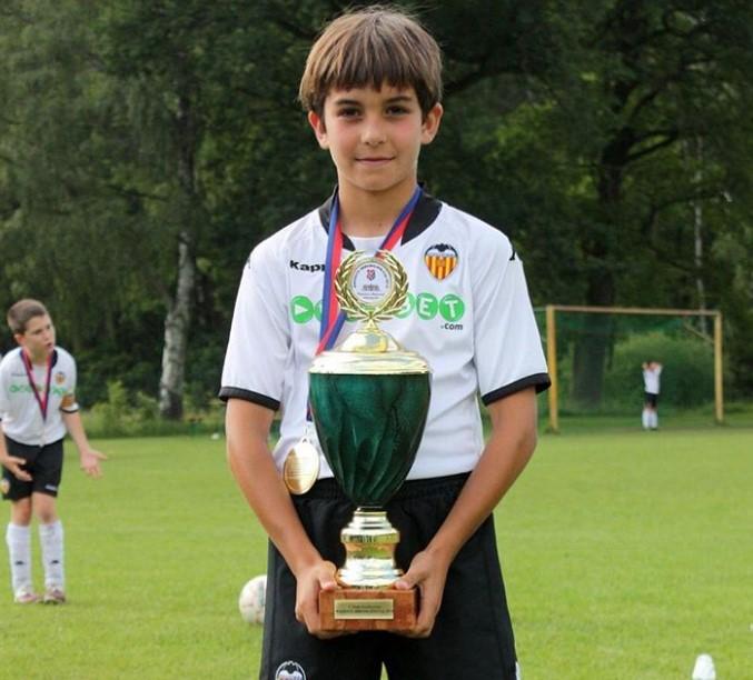 Ferran Torres young