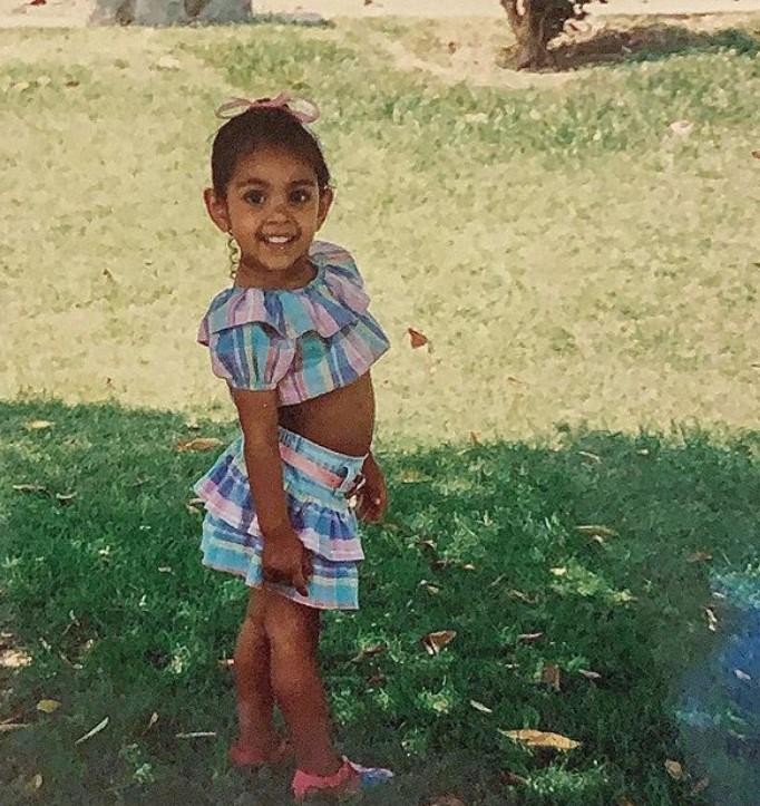 Tayshia Adams young