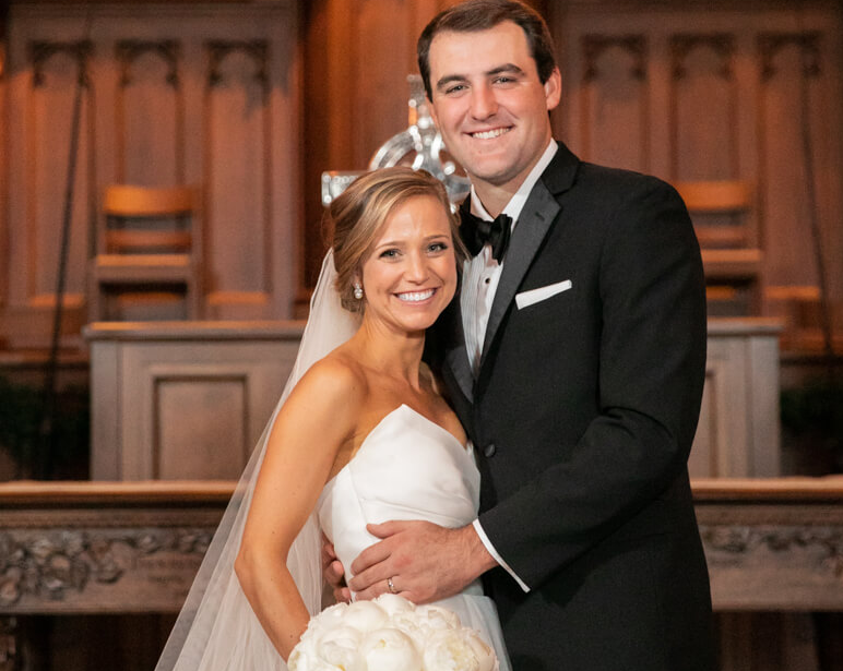 Scottie Scheffler and his wife, Meredith