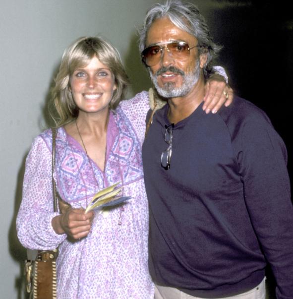 Bo Derek and her late husband, John Derek