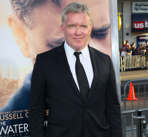 Anthony Michael Hall, a famous actor