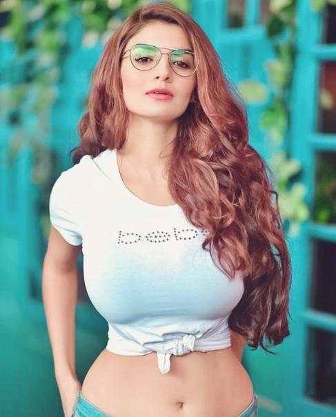 Anveshi Jain, a famous actress
