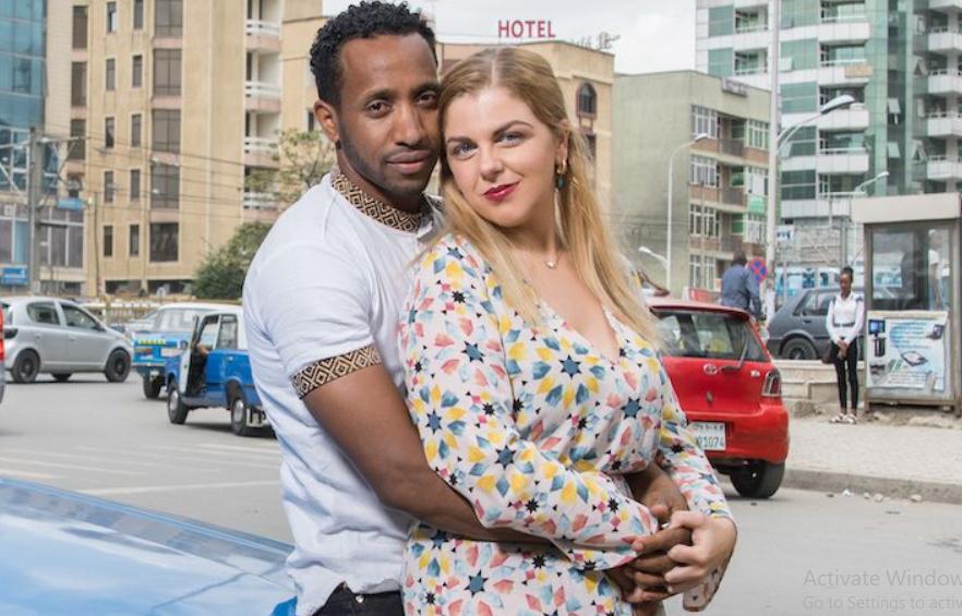 Ariela Weinberg and her boyfriend, Biniyam Shibre