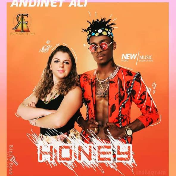 Ariela Weinberg in music video HONEY
