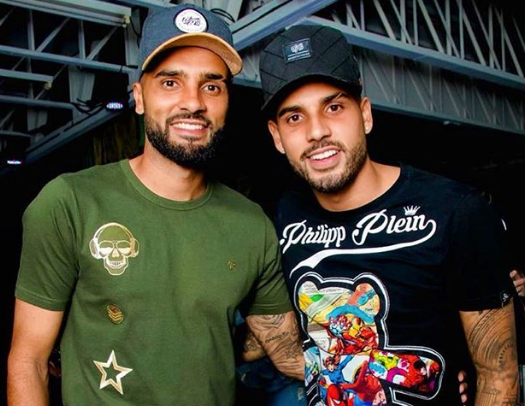 Emerson Palmieri and his brother