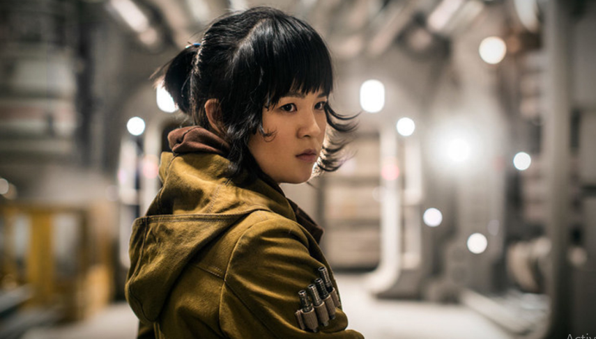Kelly Marie Tran in the Star Wars films The Last Jedi and The Rise of Skywalker