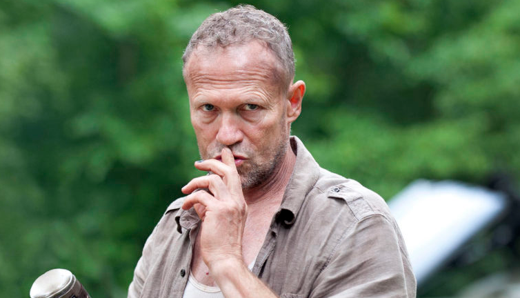 Michael Rooker as Merle Dixon on the television series The Walking Dead
