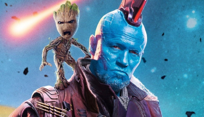 Michael Rooker as Yondu in the Marvel Studios film Guardians of the Galaxy