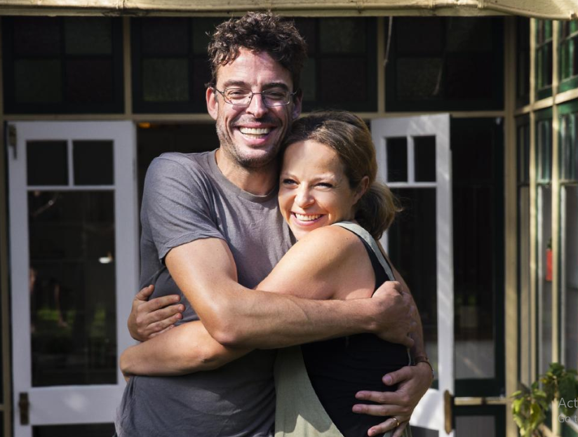 Joe Hildebrand and his wife, Tara Ravens
