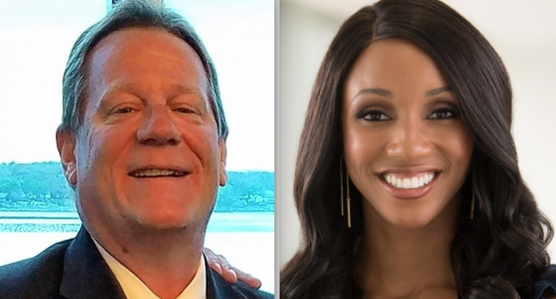 Dan McNeil (Left) and Maria Taylor (Right)