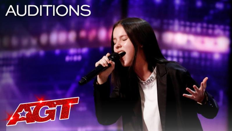 "Daneliya Tuleshova Sings ""Tears of Gold"" by Faouzia - America's Got Talent 2020"