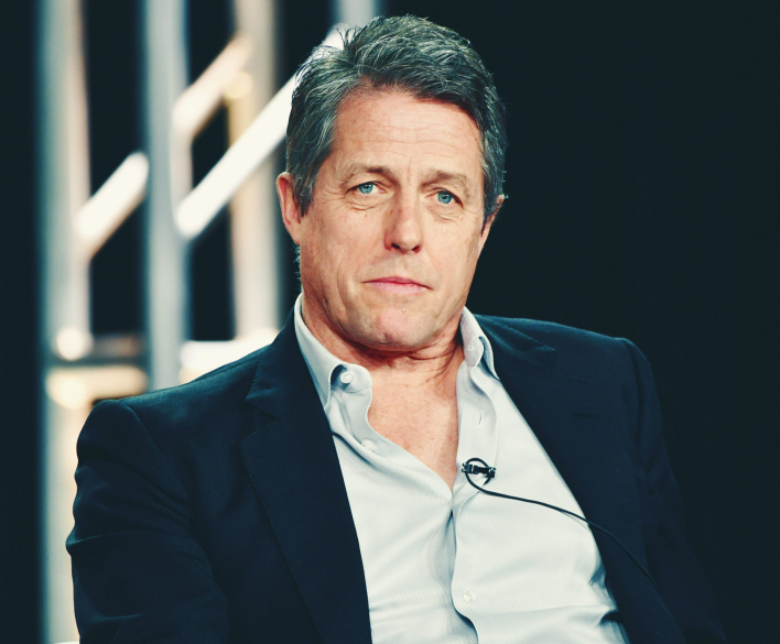 Hugh Grant, a famous actor and film producer