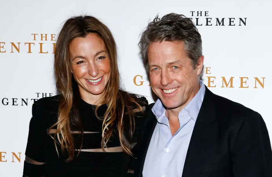 Anna Elisabet Eberstein and Hugh Grant