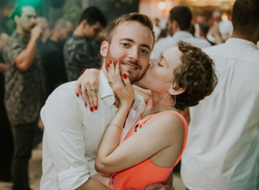 Shira Haas and her boyfriend, Daniel Moreshet