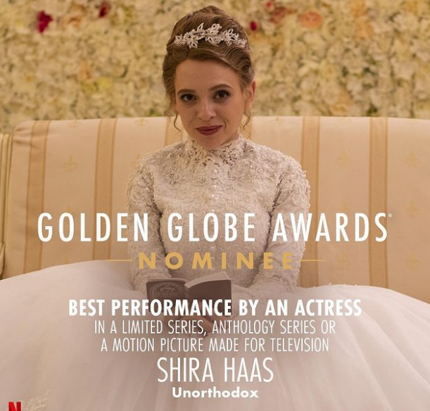 Shira Haas, Golden Globe Nominee Awards