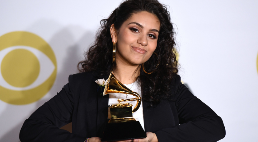 Alessia Cara, winner of Grammy Award