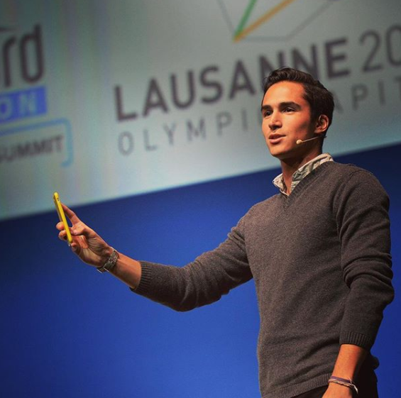 Juan David Borrero, a senior partnerships manager at Snapchat