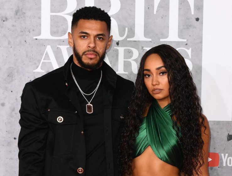 Leigh-Anne Pinnock and her boyfriend, Andre Gray