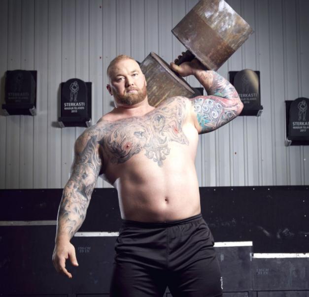 Hafþór Júlíus Björnsson, current World's Strongest Man