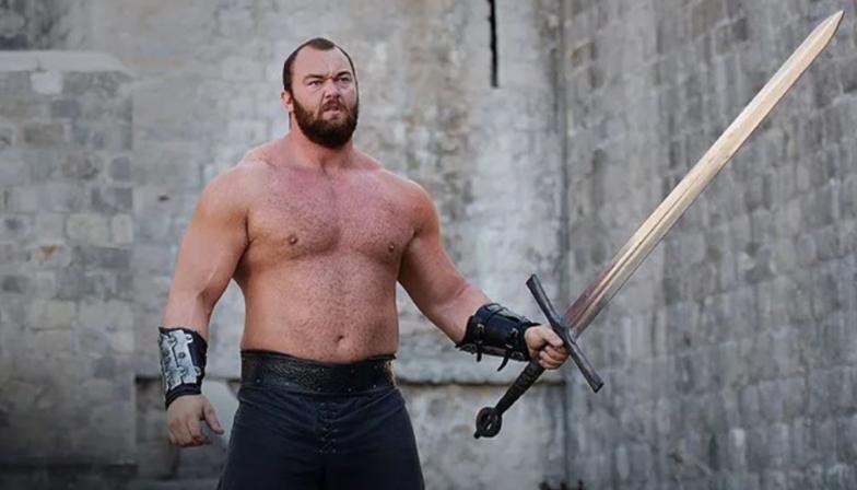 Hafþór Júlíus Björnsson in Games of Thrones