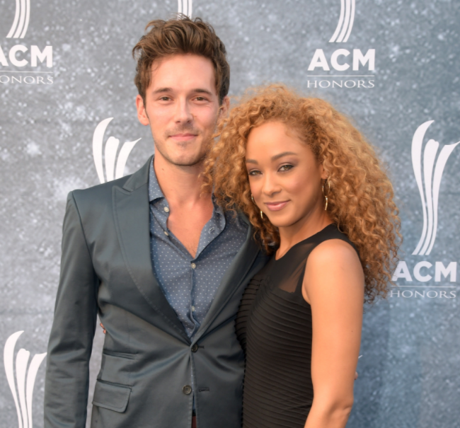 Chaley Rose and Sam Palladio