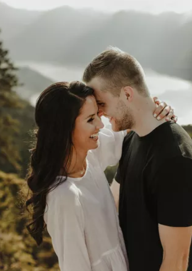 Devon Toews and his girlfriend, Kerry Wetzelberger
