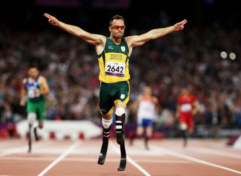 Oscar Pistorius, a famous sprinter
