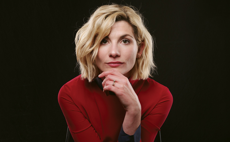 Jodie Whittaker, a famous actress